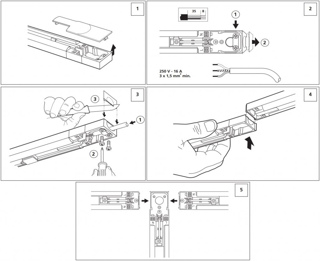 Lumiance Nanotrack 1 monteringsanvisning